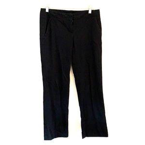 Black theory crop dress pants